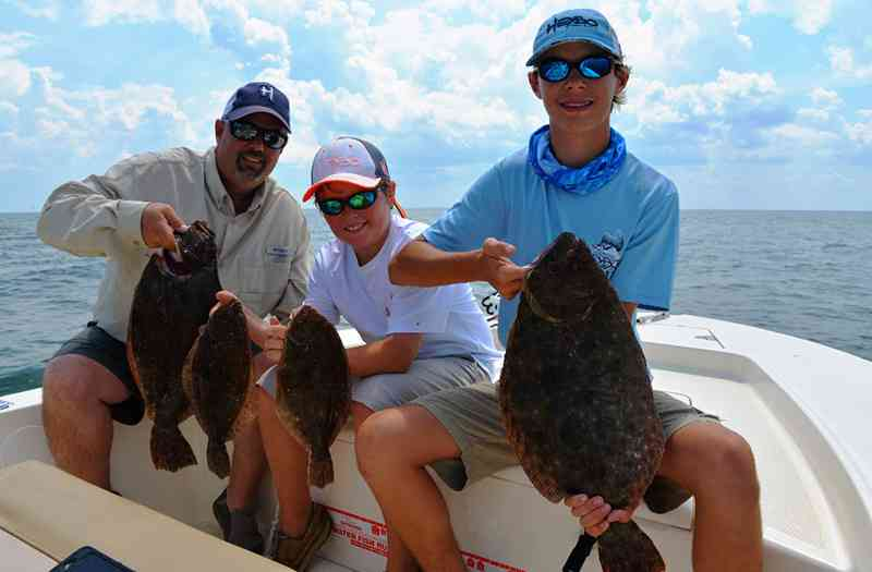 Flounder fishing myrtle beach 0121 myrtle beach guide for Myrtle beach fishing charters prices