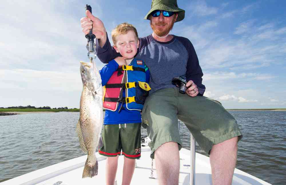 Speckled-Trout-Winyah-Bay