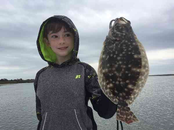 flounder fishing murrells inlet